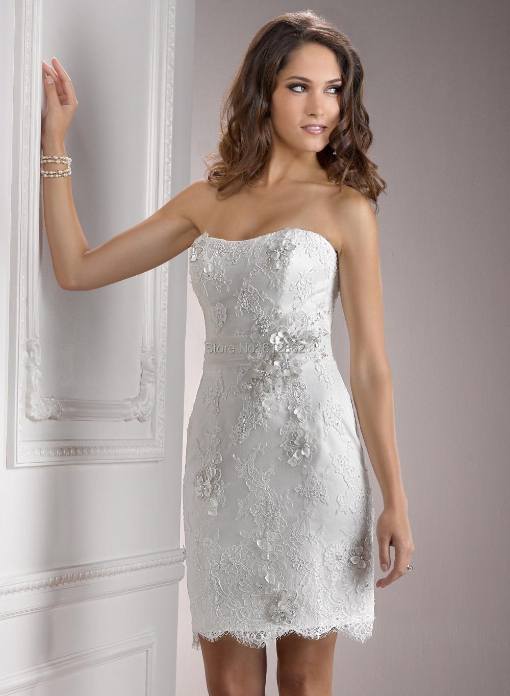 Mini abito da sposa
