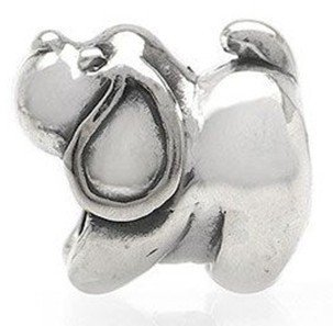 Free Shipping 1pc Jewelry 925 Silver Bead Charm European Bead Doggie Silver Bead Fit Pandora  bracelets & bangles  jewelry H596