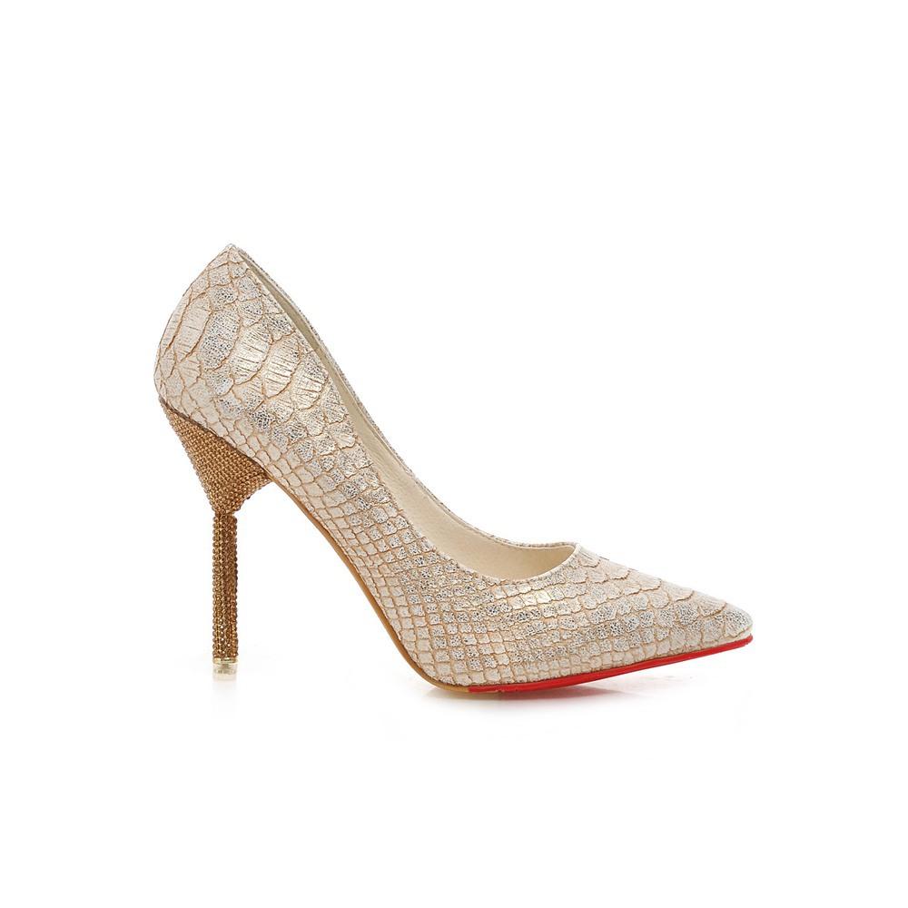 Gold Silver Heels