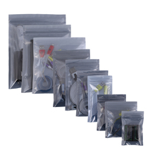 Durable Self Seal Translucent Anti-Static Mylar Flat Pouches Multi Sizes 100pcs Zip Lock Anti Static Bags For Electronics(China (Mainland))