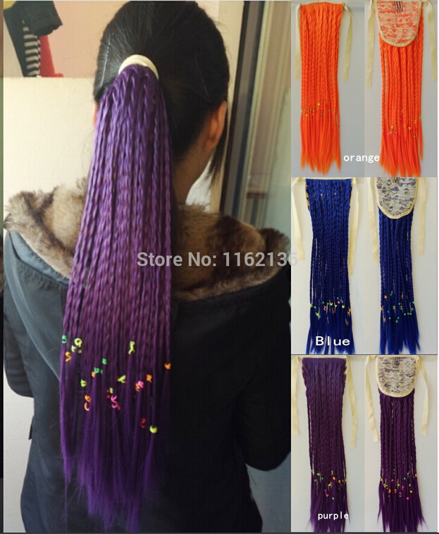 Crochet Braids Queue De Cheval : De Queue De Cheval Promotion-Achetez des Tresse De Cheveux De Queue De ...