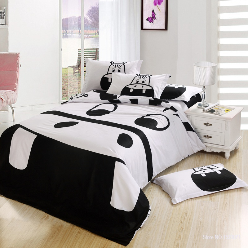 Online get cheap horse comforter sets twin for Cheap white twin bed