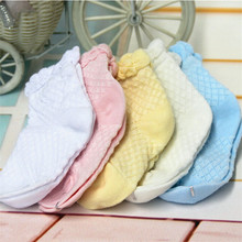 5pairs/set Lace and plain top Reticulation Baby Kids candy color socks summer ultra-thin breathable short boys and girls socks(China (Mainland))