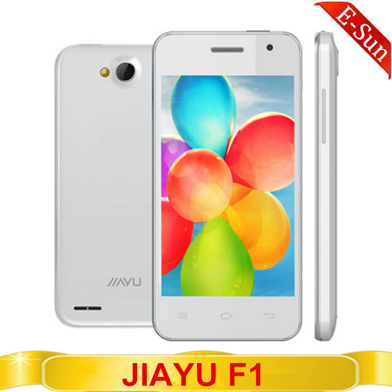 JIAYU F1 3G WCDMA MTK6572 Dual Core 512MB RAM 4G ROM 5.0MP Camera Android 4.2 Russian Spanish Polish JIAYU Smart mobile phone(China (Mainland))