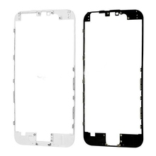 1000 pcs/lot  Original  Black/White Front Frame Bezel For iphone 6S plus 6S+  Housing Parts Chrome Holder (China (Mainland))