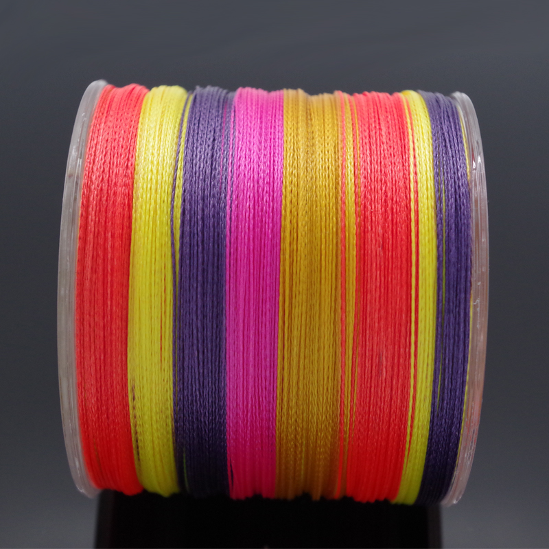 Thanksgiving Online Store Japan Material 500M 4Strands PE Multifilament Braided Fishing Line For Carp Fly Ice Fishing 10-100LB(China (Mainland))