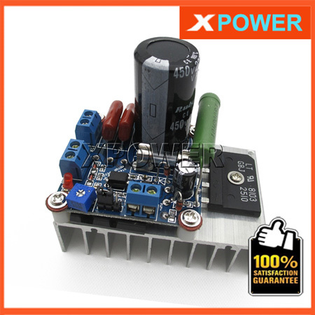 Free Shipping SCR PWM DC Motor Speed Controller 5A 110V 48V 12V 24V MACH3 Spindle Speed Regulation(China (Mainland))