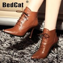 Tobillo envío libre natrual cuero genuino verdadero de tacón alto botas de las mujeres de arranque nieve R4559 tamaño EUR 34-39(China (Mainland))
