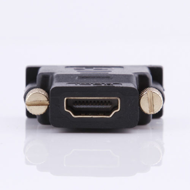 24+5pin DVI Male to HDMI Female Adapter M F Converter Convertor For HDTV LCD TVs Free Shipping(China (Mainland))