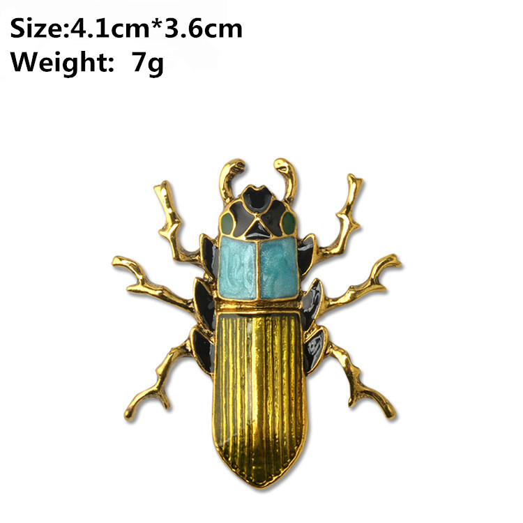 2017-New-Arrival-Gold-Alloy-Cockroach-Broaches-Retro-Brooch-Beetles-Beetle-Brooch-Pin-Accessories-X1794