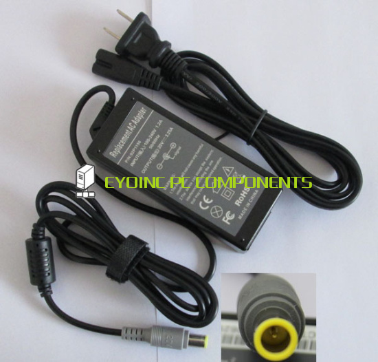 20V 3.25A 65W Laptop Ac Adapter Charger for IBM / Lenovo / Thinkpad R400 R500 W500 W700 N200 V100 C200 3000(China (Mainland))
