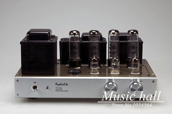 2015 Raphaelite DP34 E88CC-EL34 push-pull tube integrated amplifier 3/5A Dedicated finished producr 110-220V<br><br>Aliexpress
