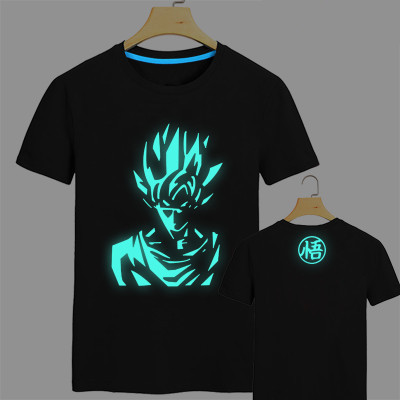 Japan-anime-Dragon-Ball-Z-T-Shirt-Super-Saiyan-fluorescent-t-shirt-men ...