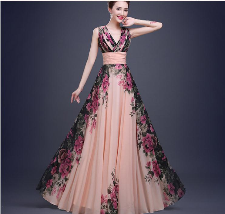 simple evening gown pattern | Fashion Gallery