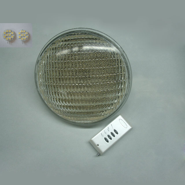 Underwater light LED Par56 Lamp of PVC+ABS Material 54W Swimming pool Fountain Garden(China (Mainland))