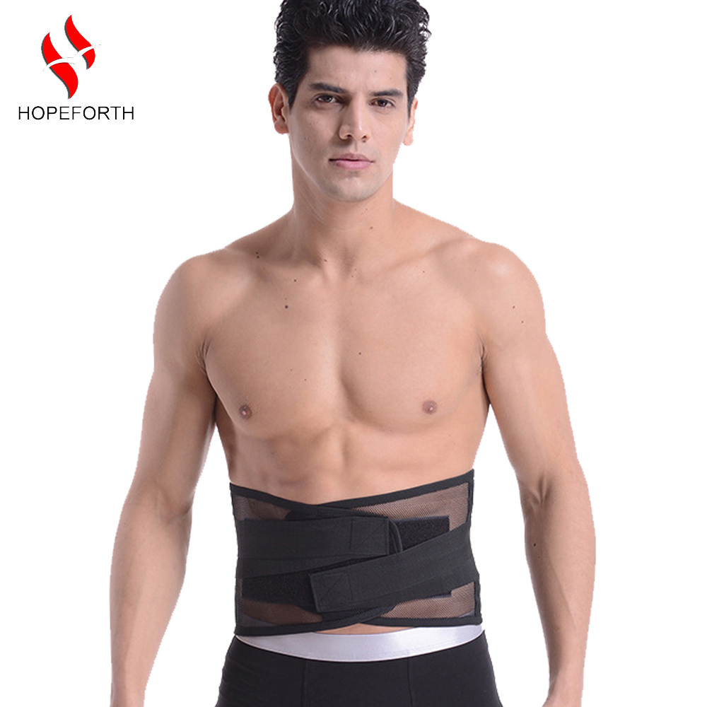 Lumbar Back Support Brace Breathable Mesh Four Steels Plate Protection Back Waist Support Belt S-XXL(China (Mainland))