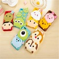 Cute 3d Cartoon Case Lovely Sulley Stitch Chip Dale Winnie Pooh Soft Silicone Cover For iPhone