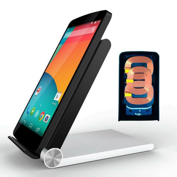 Aliexpress.com : Buy Qi Wireless Charger 3 Coils Folding