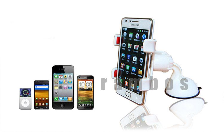 Cell Phone Car Mount Holder Suction Stand Rotating Holders for Samsung(China (Mainland))
