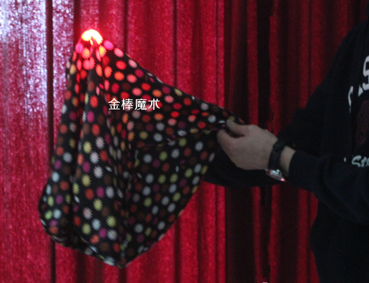 Magic Trick Set Magic Play with Flashing Party Stage Tricks Stage Close Up Magic Prop Gimick Card Fancy Light Magic Thumb(China (Mainland))