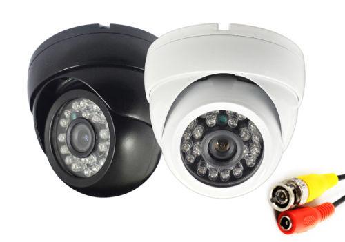 2pcs/lot CMOS 1200TVL 3.6mm-6mm Lens Night Vision IR Dome Metal Outdoor/Indoor CCTV Security Camera IR-CUT(China (Mainland))