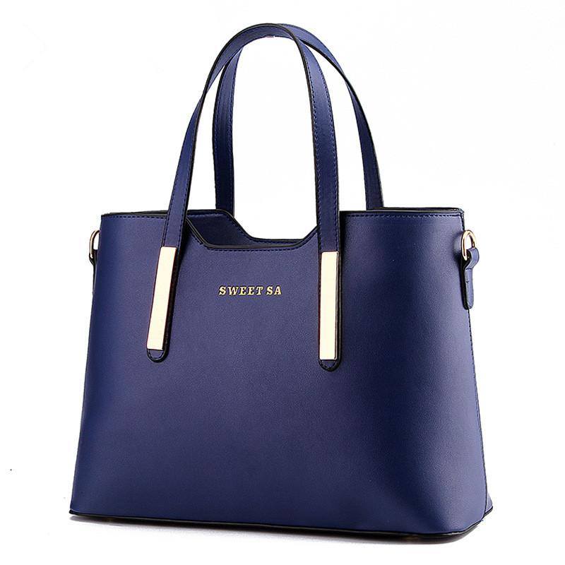 PU bag 2015 new bag Korean version of the European and American stereotypes fashion handbags shoulder bag handbag Messenger Bag