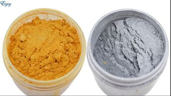100g Mica powder Gold Color Pigment for High Grade Glitter Decorating material,Gold Paint Coating Powder Free shipping