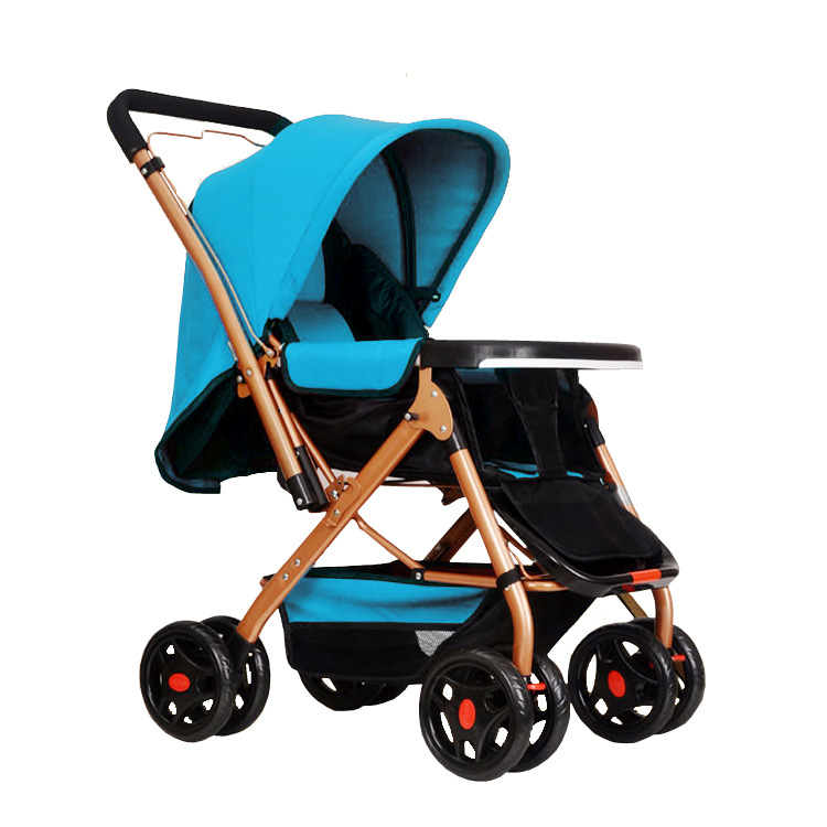 Two-way can sit can lie stroller travel essential simple generous baby stroller Free Shipping(China (Mainland))
