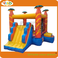 Happy funny jungle inflatable trampoline for Birthday Party(China (Mainland))