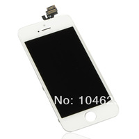 Free shipping White LCD Screen Display Touch Digitizer Assembly Fit For iPhone 5 5G 6th BA145 T15
