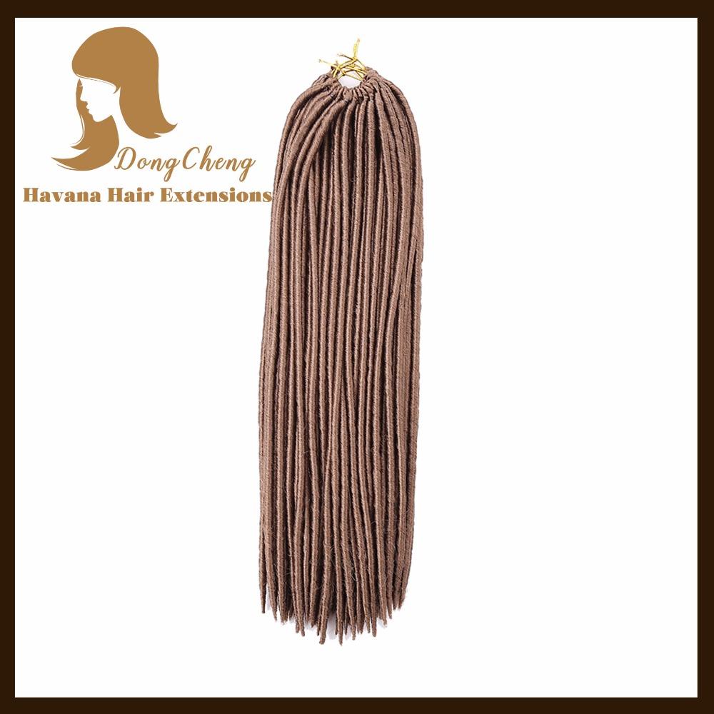 18 inch Dread Faux Locs crochet hair xpression hair curly clip in hair extensions kinky curly bulk hair(China (Mainland))