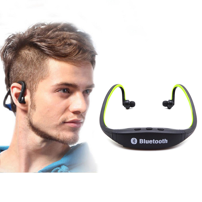 Original S9 Auriculare Sport Bluetooth Earphone Wireless Headphone Stereo Music Build-in Microphone Handsfree For Phone Tablet