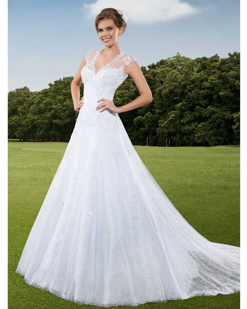 Buy vestido de noiva plus size princesa for Wedding dresses in colorado
