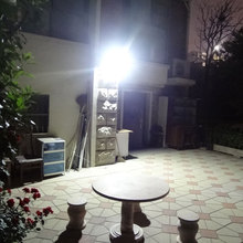 Outdoor Waterproof Solar Lamp Landscape Garden Lamp Human Body Induction Lamp Super Bright LED Street Lamp(China (Mainland))