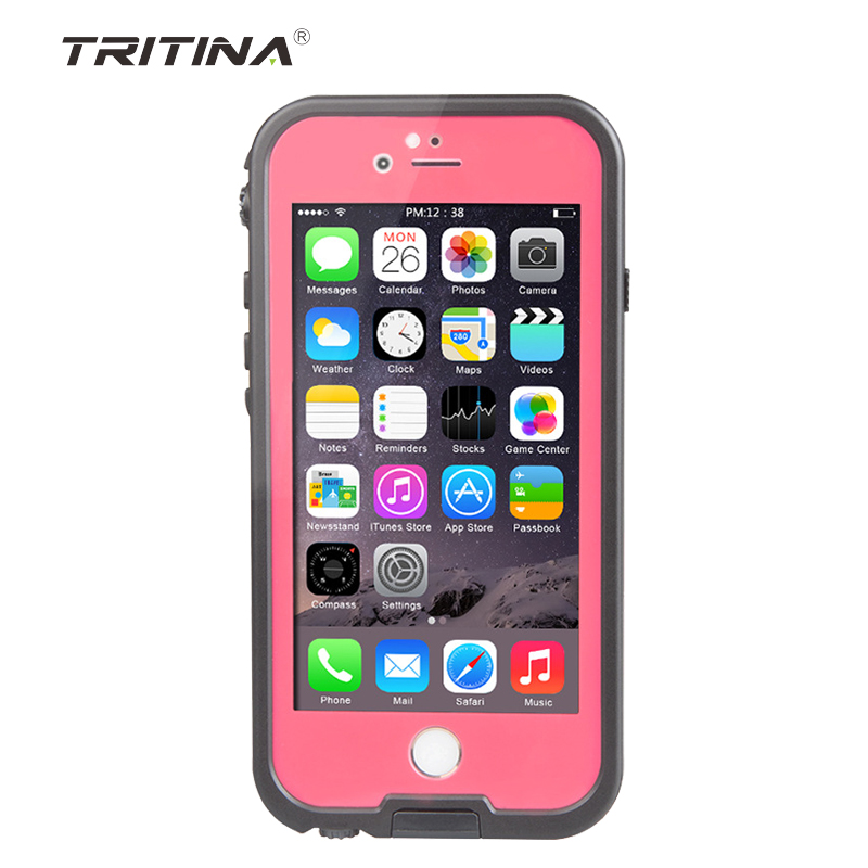 Tritina IP47 WaterProof Protector case For i Phone6/6s 4.7 inch case with Dust Proof,Crashproof(China (Mainland))