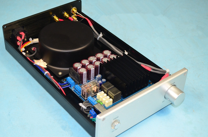 New Finished TDA8954TH Class D HIFi Digital Amplifier High power 100W+100W Mini Audio Power Amplifier