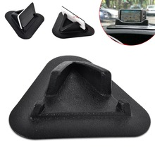Tracking # New Antislip Silicone Stand Holders Navigator Support  Mounts For GPS Navigation iPhone Tablet PC MID PDA Bracket Pad(China (Mainland))