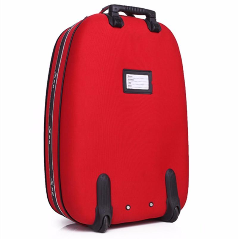 ซื้อ 2016ใหม่ผู้ชายความจุขนาดใหญ่รถเข็นกระเป๋ารถเข็นกระเป๋าสีแดงเทศกาลรถ.สมิธก้านผู้หญิงล้อทิศทางกระเป๋า2024