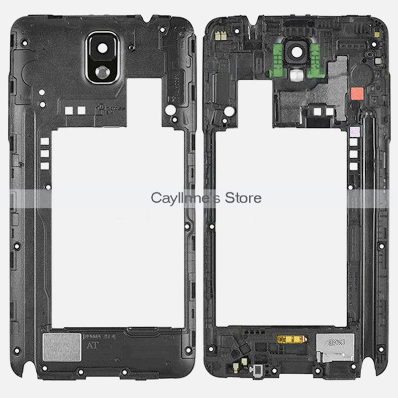 5pcs/Lot New Note3 N9005 Middle Frame for Samsung Galaxy Note 3 N9005 Backplate Housing Parts(China (Mainland))