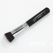 free shipping synthetic fiber F82 ROUND KABUKI BRUSH(China (Mainland))