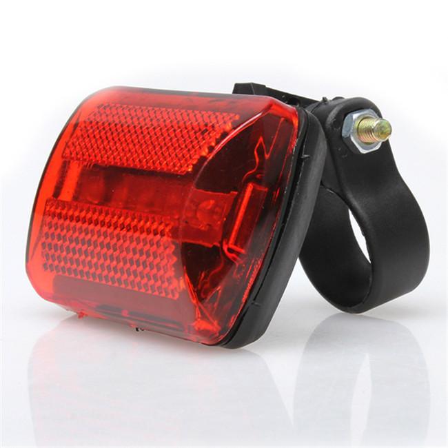 Гаджет  5 LED Rear Tail Red Bike Bicycle Back Light TNN# None Спорт и развлечения