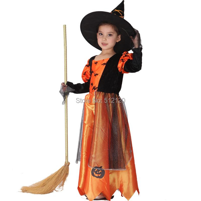 Наряд ведьмы для девочки