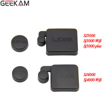 GEEKAM SJ5000 Lens Cap Cover And Hood Compatible For SJ5000 SJ5000 WIFI SJ5000 plus SJCAM Action Sport Camera SJ5000 Accessories