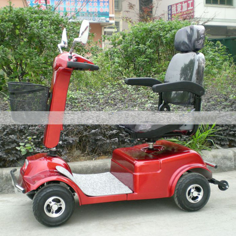 500W Four-wheel electric vehicles for disabled old people scooter electric bicycle Disabled FREE DELIVERY(China (Mainland))