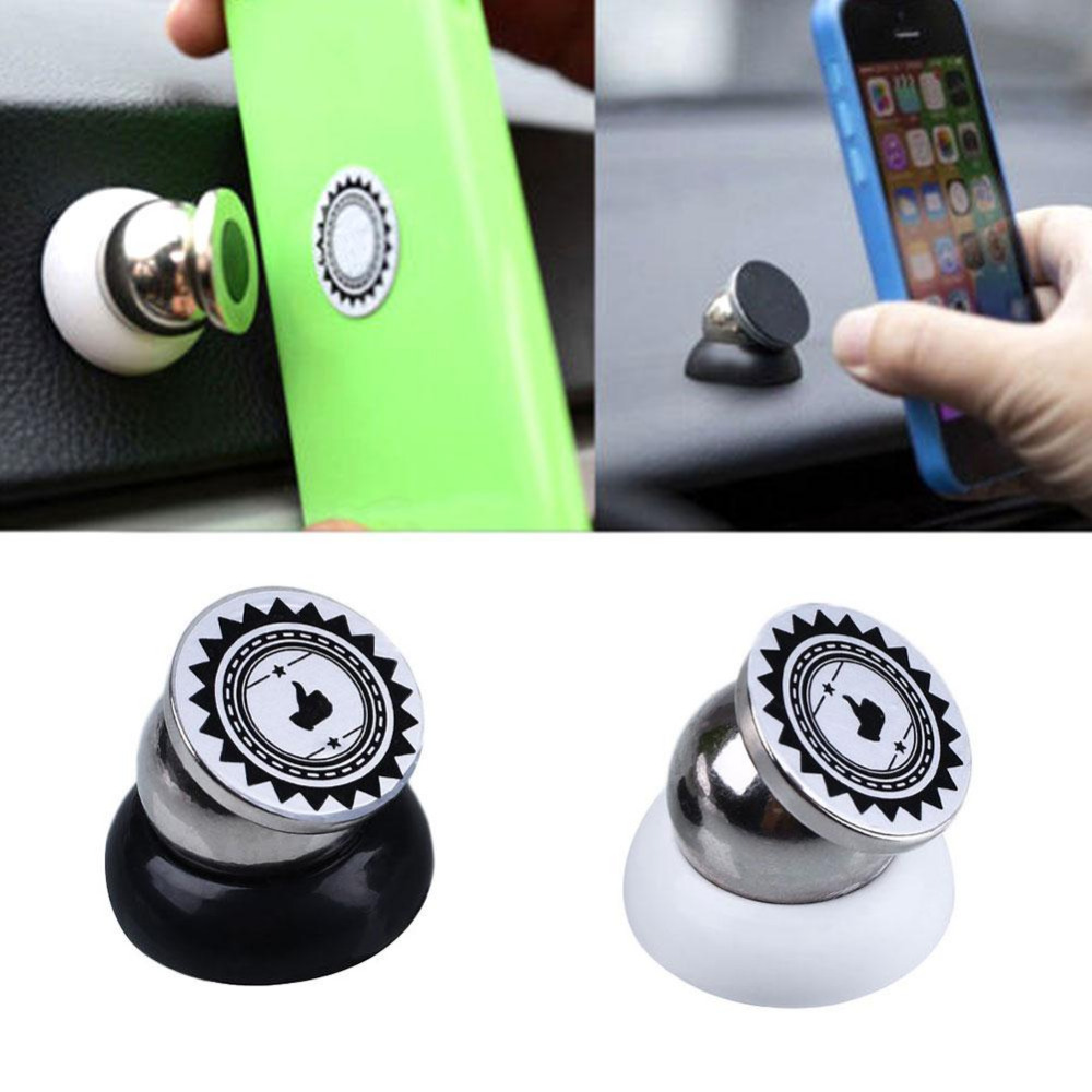360 Degree Magnetic Car Dashboard Mount Mobile Phone Sticky Magnet Holder Stand(China (Mainland))