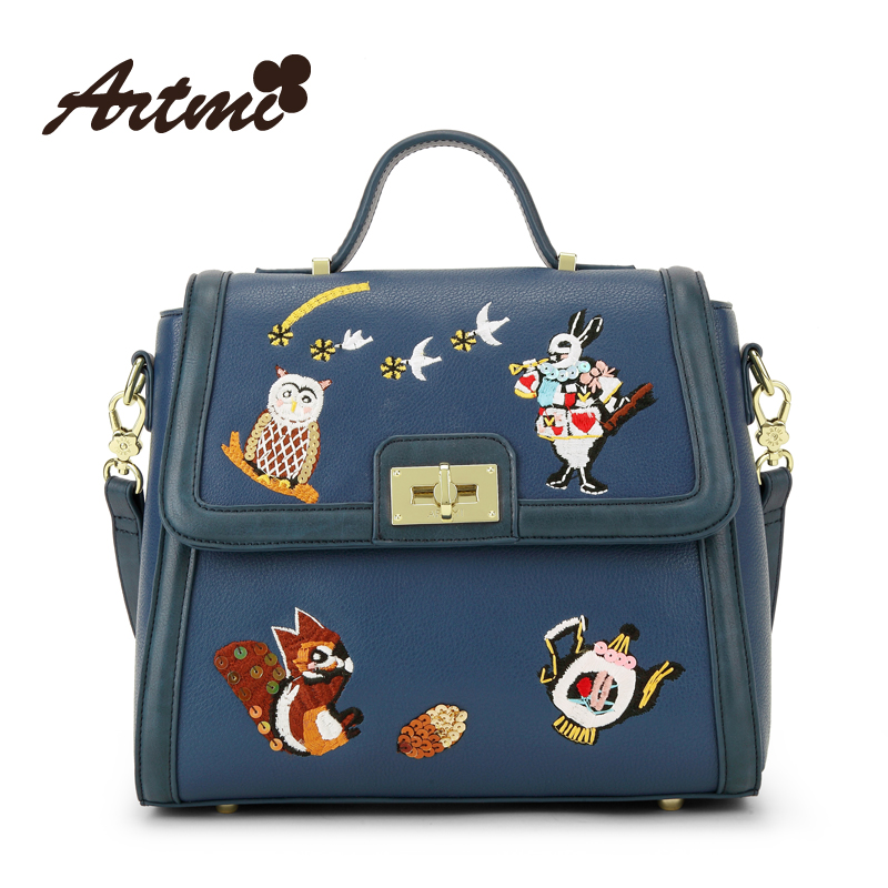 Artmi spring and summer fashion messenger bag handbag womens preppy style alice handbag<br><br>Aliexpress
