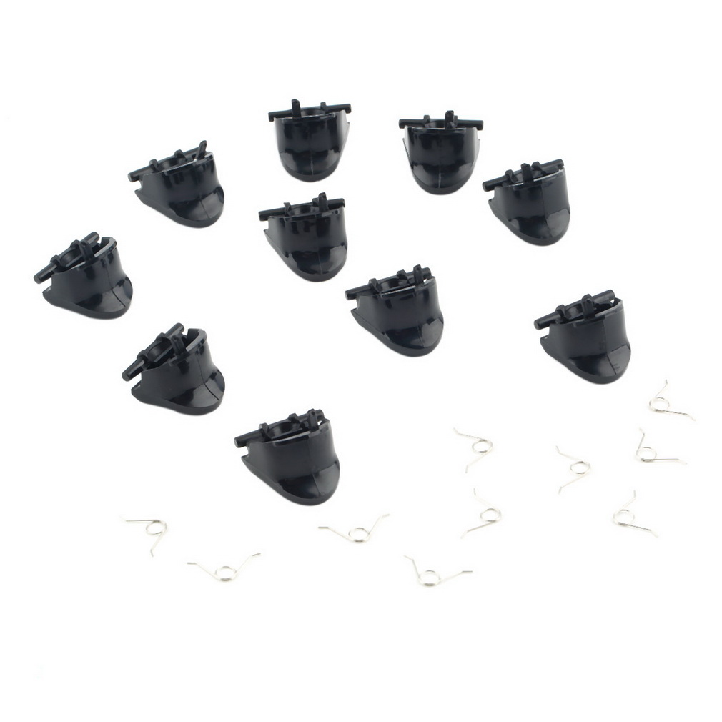 5 Pair Lot of Replacement L2 R2 Trigger Buttons 10 Springs for PlayStation 4 For PS4