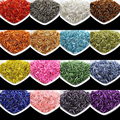 Multi Color Silver Lined Bugle Czech Glass Seed Spacer Beads 1000pcs lot Austria Crystal Long Tube