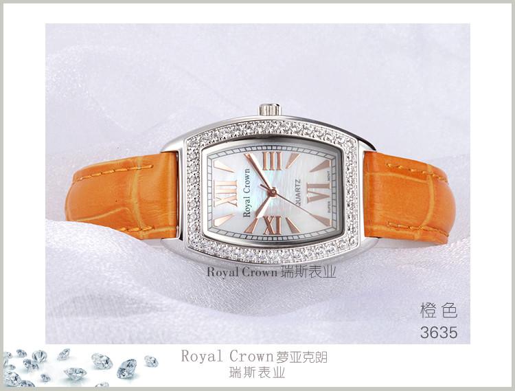 Элегантный Shell женские Часы Япония Кварцевых Часов Лучший Моды Платье Кожаный Браслет Роскошные Стразы Девушка Подарок На День Рождения Ящик