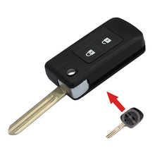 Folding Remote Key Shell Keyless Entry Case 2 Button For Subaru Outback Legacy(China (Mainland))